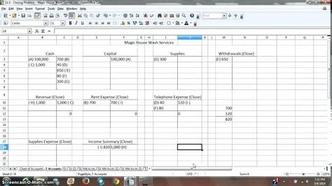 T Accounts Excel Template by T Accounts Excel Template Spreadsheet Template T Accounts