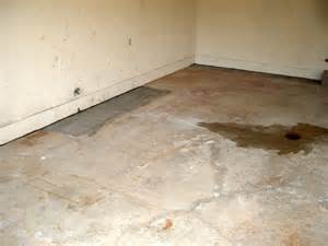 Garage Floor Repair Metro Home Inspections Inspectors Photos 7724