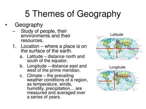 5 themes of geography history ppt global history ii powerpoint presentation id 2935686