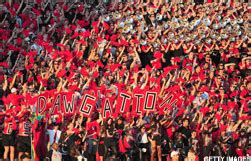 uga student section georgia looking for ways to combat declining student