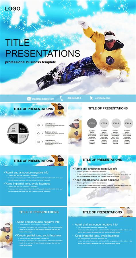powerpoint layout guides guide to snowboarding powerpoint templates imaginelayout com