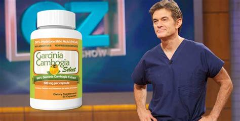 supplement endorsements does dr oz really endorse garcinia cambogia