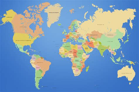 7 world map خريطة العالم world map مجلة رحالة