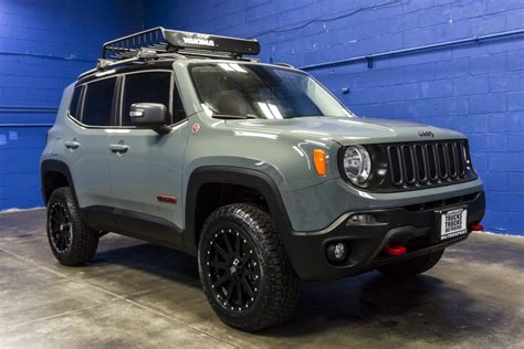 jeep renegade lifted used lifted 2016 jeep renegade trailhawk 4x4 suv for sale