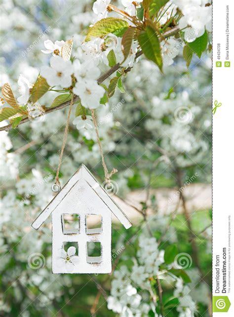 sakura house cherry blossom sakura flower cartoon vector