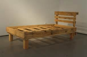 bed frame out of pallets diy pallet bed frames for your bed room pallets designs