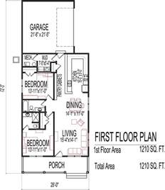 Building Plans For Homes Small Low Cost Economical 2 Bedroom 2 Bath 1200 Sq Ft Single Story House Floor Plans Blueprint