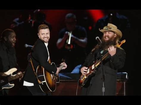 Justin Timberlake Stole The Show by Country Awards Axs