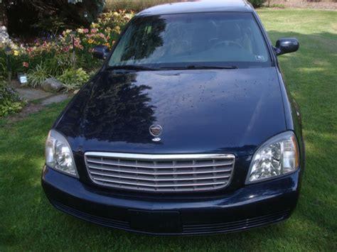 2004 cadillac deville blue low mileage 86000 garage kept heat cool seats