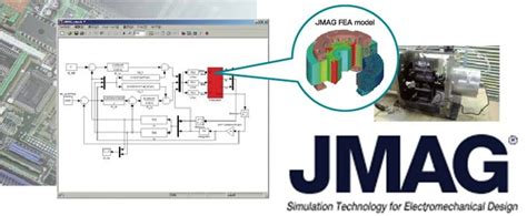 electrical machine analysis using finite elements power electronics and applications series books jmag simulation software for electromechanical equipment