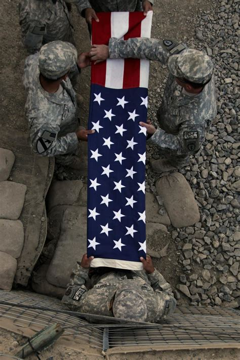 dvids images soldiers fold flag  reenlistment image