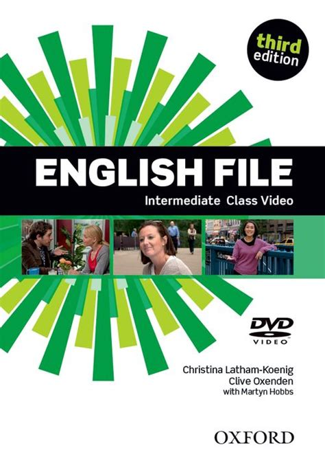 english file 3rd edition 0194598934 english file third edition class dvd intermediate by clive oxenden christina latham koenig