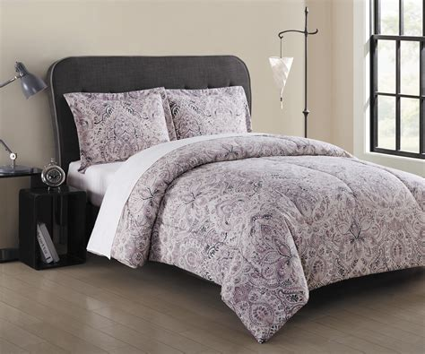 essential home watercolor medallion mini comforter set