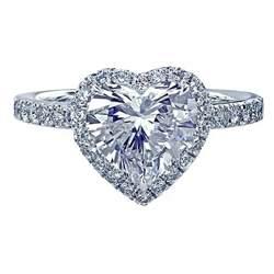 shaped engagement ring meg 233 platinum engagement ring with a shaped and halo engagement rings