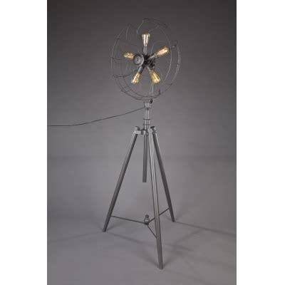 five light floor l five light industrial whimsical iron fan large floor l