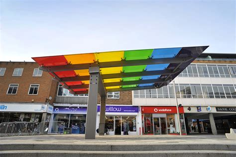 Canopy Shopping by Marlowes Shopping Area Shelters Canopies Broxap