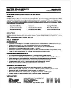 Changing Careers Resume Samples by How To Make A Resume 101 Examples Included