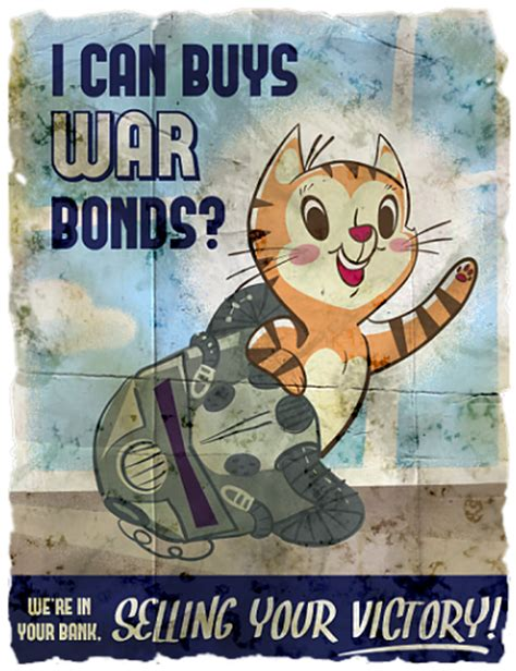 fallout cat propaganda [x post r/fallout] : gaming