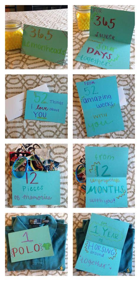 1 Year Anniversary Gifts For Boyfriend Ideas - one year anniversary with my boyfriend gift levi