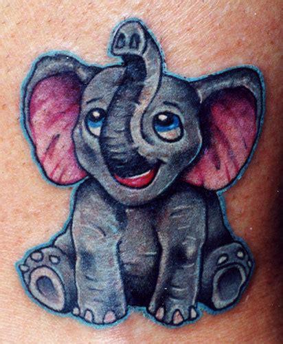 cartoon elephant tattoo design elephant tattoo images designs