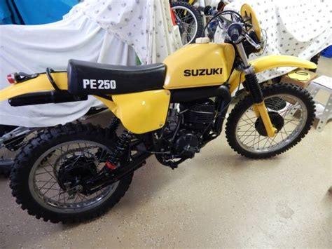 1977 Suzuki Pe 250 1977 Suzuki Pe250 Vintage Rm