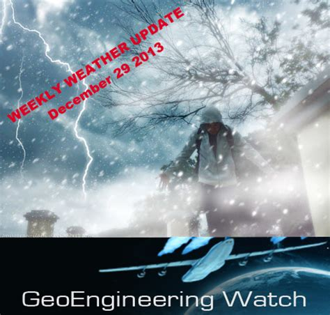 weekly weather update – man made super storms now in