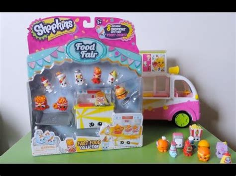 Shopkins Food Fair Fast Food Collection 1 shopkins fast food collection food fair