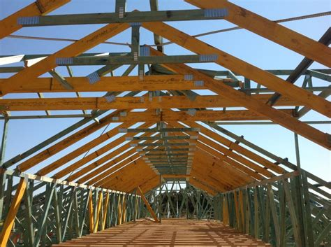 prefabricated roof trusses timber products