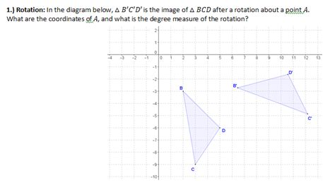 Geometry G Rotations Worksheet 1 by Rotation Worksheet With Answers Geometry G Rotations