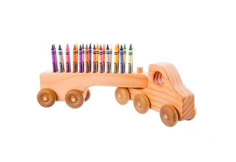 Wooden Handcrafted Gifts - countryside gifts handmade wooden crayon holders keep
