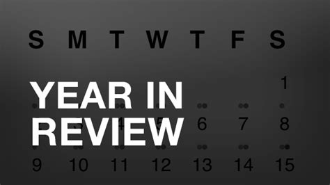 5 new year review year in review shannon t l kearns shannon t l kearns