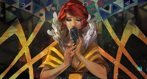 transistor artist the singer artwork