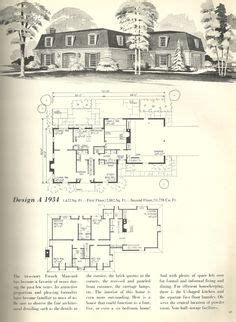 Mansard Style House Probably Dating From 1970s The Oval Mansard House Plans