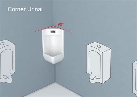 urinal layout guide corner urinal entry if world design guide