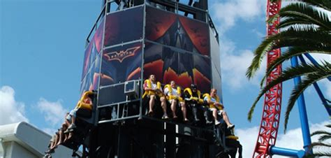 Batwing List Gold best rides at world gold coast theme park