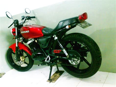 Tengki Suzuki Thunder modifikasi suzuki thunder 125cc kaskus the largest community