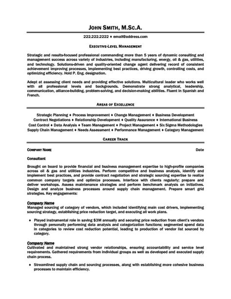 Resume Templates 101 by Executive Level Manager Resume Template Premium Resume