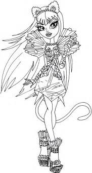 30 monster high coloring pages coloringstar