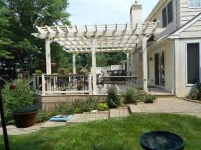 Building An Arbor Over A Patio Deck With Pergolas Deck Pergolas In Lancaster Amp Chester