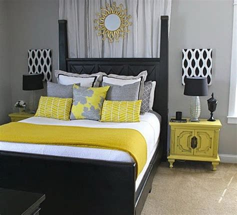 gray and yellow bedrooms gorgeous gray and yellow bedroom