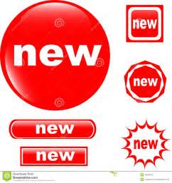 www new new button web glossy icon stock photography image 19530532