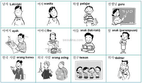 everlastingfriend belajar kosa kata korea bergambar