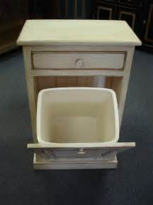 Kitchen Trash Bin Cabinet by Amish Tilt Out Trash Can