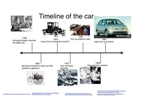 invention of the motor car automobile motor car timeline of the car kidblog