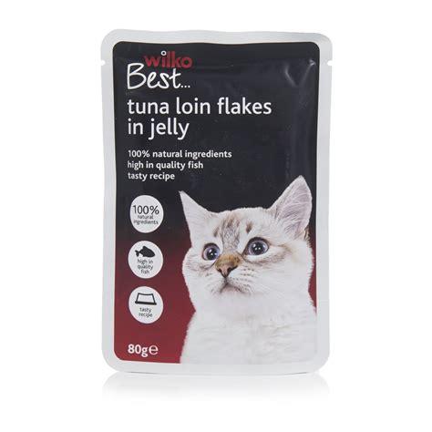 Cat Pouch Kitten Tuna Food wilko best pouch cat food tuna loin flakes in jelly 80g at wilko