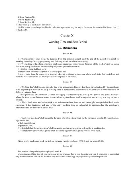 section 82 environmental protection act the hungarian labor code