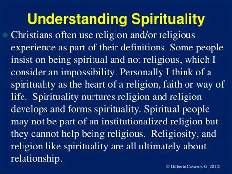 introduction to spirituality