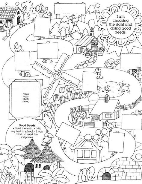 coloring pages of jesus helping others heavenly father s plan lesson 39 i can follow jesus