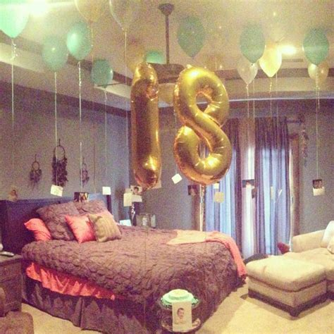 Bedroom Decoration Ideas For Birthday I Would If Someone Did This For Me My Birthday Is 3