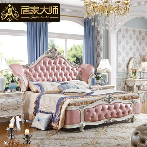 Princess Bedroom Set by China Guangzhou Leather Modern Luxury Princess Bedroom